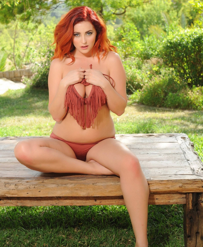 Lucy-Collett-Topless-in-a-Rose-Bikini-Garden-Photoshoot-06-cr1394141519983-675x900