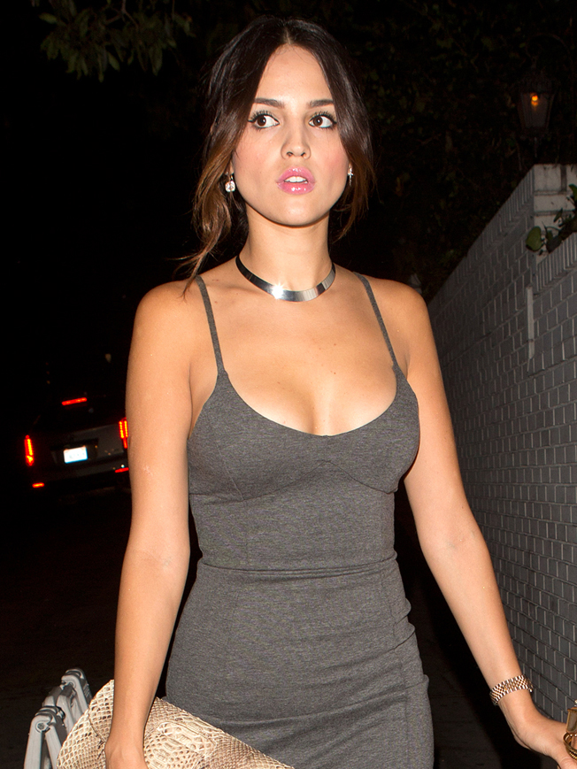 Mexican actress Eiza Gonzalez was seen leaving the Chateau Marmo