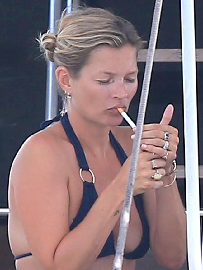 Kate Moss revista Chilanga Surf