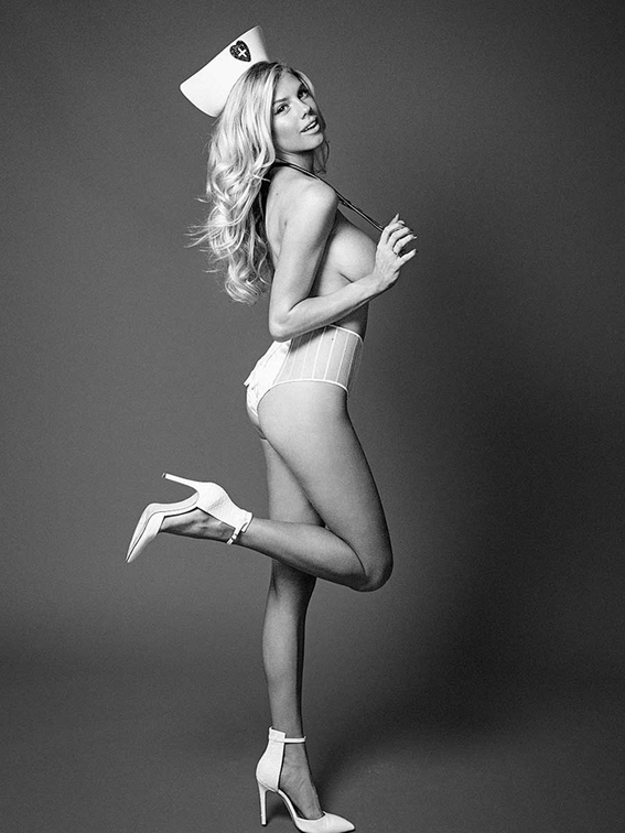 Charlotte-Mckinney-Wears-Nurse-Outfit-For-Galore-Magazine-03