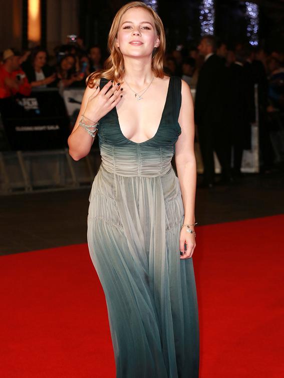 BFI London Film Festival 'Fury' premiere and closing gala