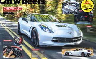 On Wheels may-abr 2014 Chevrolet Corvet Stingray