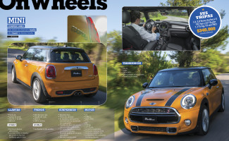 On Wheels sep-oct 2014 Mini Cooper S MK3