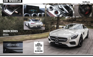 Mercedes AMG GTS #OnWheels may/jun 2015