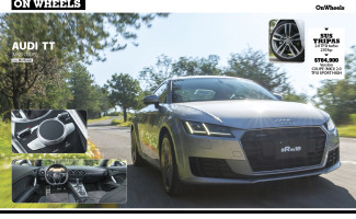 Audi TT #OnWheels sep/oct 2015