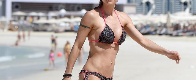 Michelle Hunziker revista Chilanga Surf