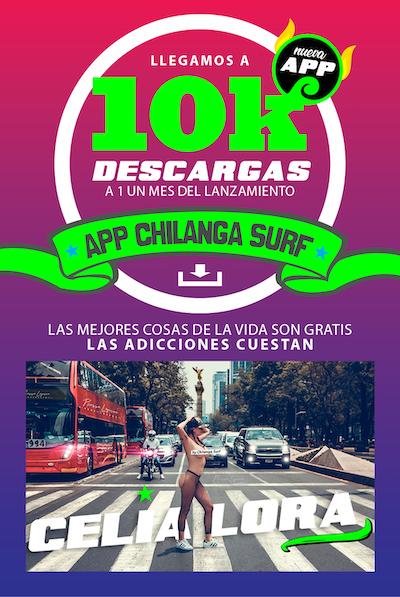 Chilanga Surf tu espacio listo para públicidad y descarga la app